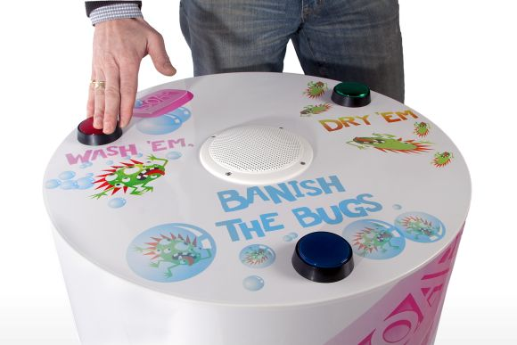 NHS Banish the Bugs Audio Game by Concept Shed